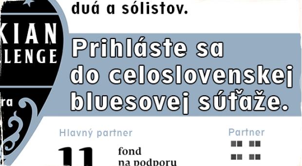 Prihláste sa do celoslovenskej bluesovej súťaže