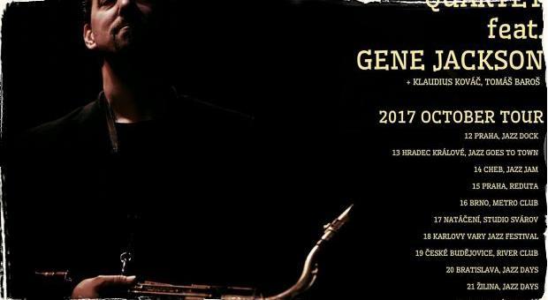 Ondřej Štveráček Quartet feat. Gene Jackson: Český saxofonista sa opäť vydáva na turné so svojim medzinárodným kvartetom