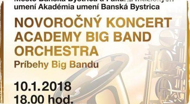 Príbehy Big Bandu: Novoročný koncert Academy Big Band Orchestra