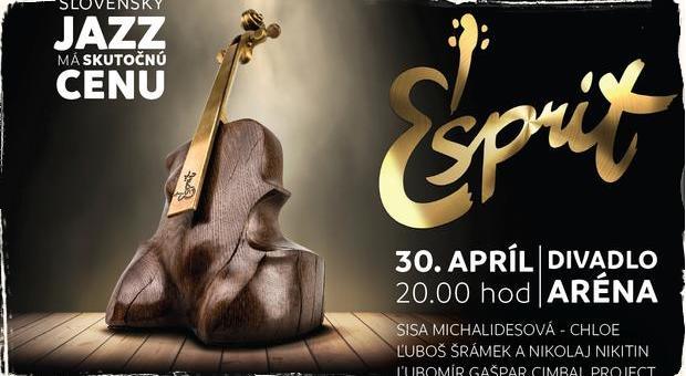 Cena ESPRIT - anketa za najlepší slovenský jazzový album roka 2017