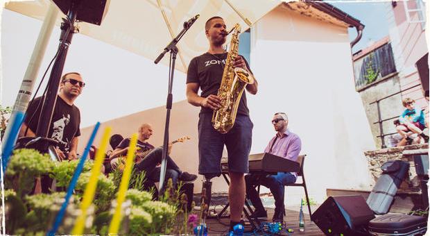 Nikitin, Šrámek, Griglák, Buntaj, Raitl: Warm Up hudobného festivalu Zvuk for Štiavnica!