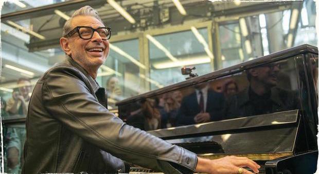 Nápaditá reklama: Hollywoodská hviezda predstavila svoj nový jazzový album na stanici