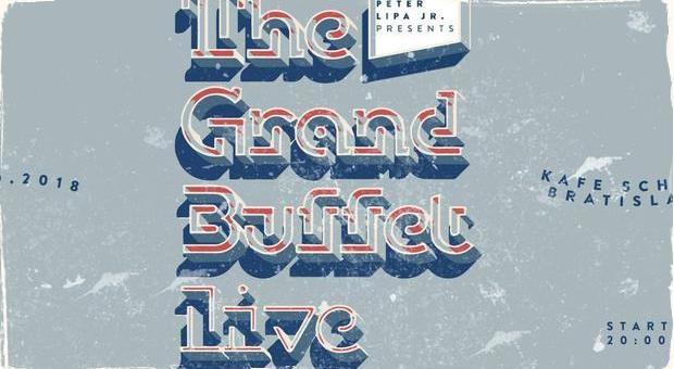 Peter Lipa jr. a jeho projekt The Grand Buffet: Už dnes večer v bratislavskom Kafé Scherz