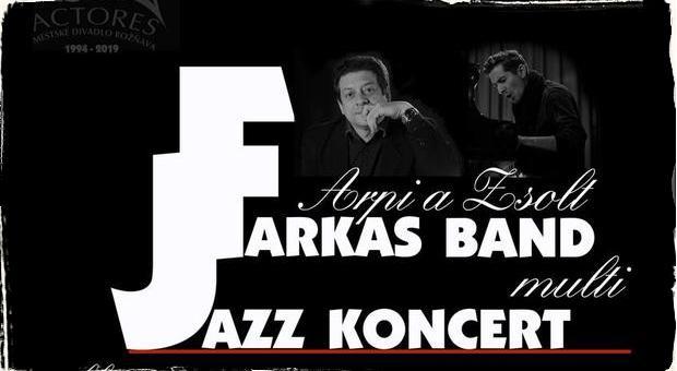 Jazz v Rožňave: V divadle Actores sa predstaví projekt Arpáda Farkaša spolu so špeciálnym hosťom