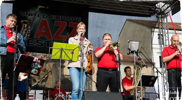 Fotoreportáž: Debrecen Dixieland Jazz Band na festivale United Europe Jazz Festival 2019 v Banskej Bystrici