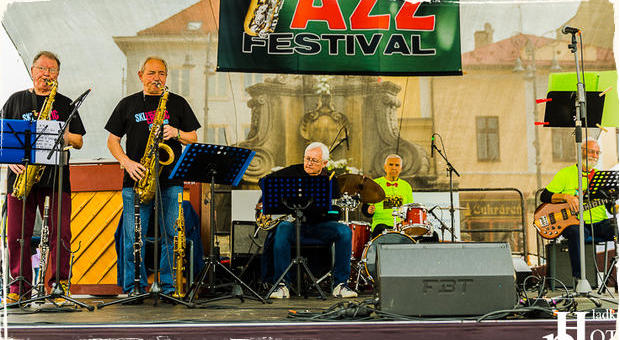 Fotoreportáž: SKLerotik Jazz Band - United Europe Jazz Festival 2019 Banská Bystrica