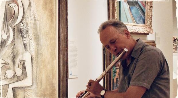 Výtvarné umenie ako zdroj inšpirácie pre jazz: Saxofonista Ted Nash improvizuje na známe maľby