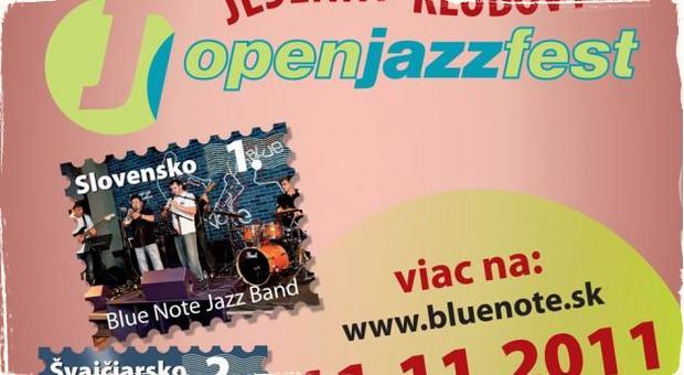 Jesenný open jazz fest v Blue Note klube