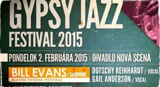 Hlavnou hviezdou Gypsy Jazz Festivalu bude saxofonista Bill Evans