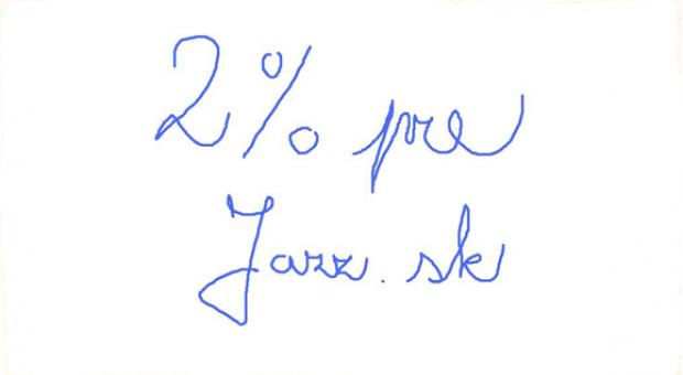 Darujte 2% z dane - podporíte jazz na Slovensku