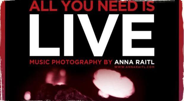 Fotografka Anna Raitl pripravila výstavu hudobnej fotografie