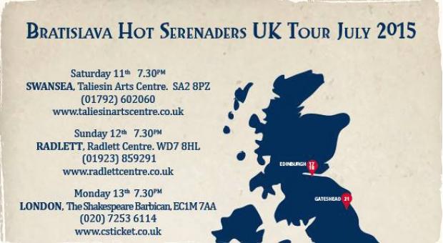 Bratislava Hot Serenaders na veľkom anglickom turné