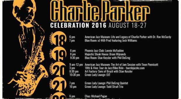 Tretí ročník Charlie Parker Celebration: Jazzový festival oslavuje svojho rodáka z Kansas City