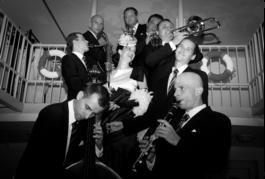 relácia ZVONKOHRA s Kristínou Prekopovou a 9 členným swingovým orchestrom FATS JAZZ BAND (rádio Devín)