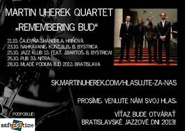 "Už o dva dni - turné MUQ ""Remembering Bud""!"