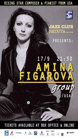 Amina Figarova Group  v Redutě