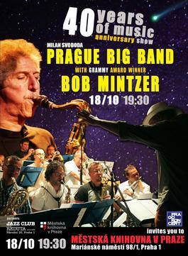 40 let Prague Big Band & Bob Mintzer /USA/