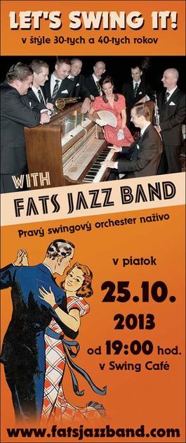 Fats Jazz Band odohrá pre bratislavské publikum poslený koncert v tomto roku