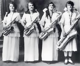 Ženy a saxofón???