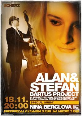 Koncert: Štefan Bartuš, Kafe Scherz, 18.11.2016 20:00
