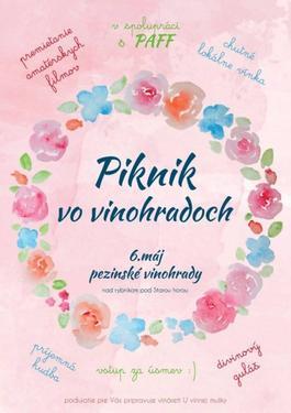 Piknik vo vinohrade, 6.5.2017 17:00