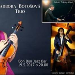 Barbora Botošová TRIO, 19.5.2017 20:00