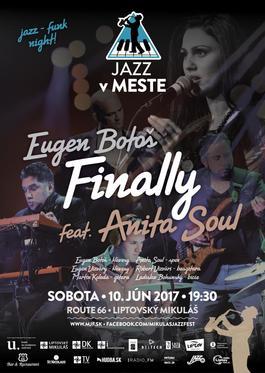 Eugen Botoš Finally feat. Anita Soul, 10.6.2017 19:30