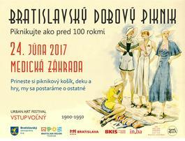 Bratislavský dobový piknik, 24.6.2017 12:00
