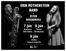 Erik Rothenstein & Ester Wiesnerova, 9.6.2017 20:00