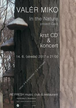 koncert a krst CD In The Nature (Real Music House), 14.6.2017 21:00