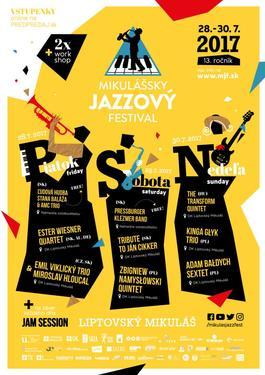 Mikulášsky Jazzový Festival 2017, 28.7.2017 16:00