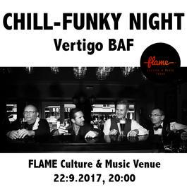 Chill-.funkový večer s Vertigo BAF., 22.9.2017 20:00