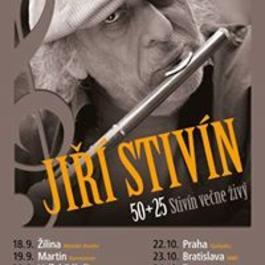 Jiří Stivín – Stivín večne živý 50+25, 23.9.2017 20:00