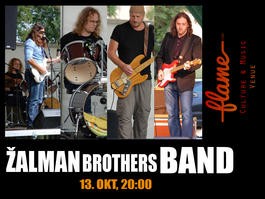 Žalman Brothers Band in FLAME, 13.10.2017 20:00
