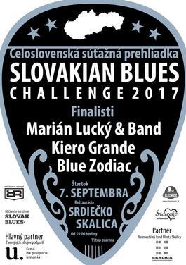 Slovakian Blues Challenge 2017, 7.9.2017 19:00