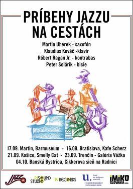 Príbehy jazzu v Martine! - Jesenné turné 2017, 17.9.2017 19:00