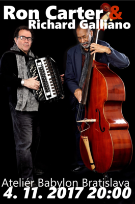 Ron Carter & Richard Galliano, 4.11.2017 20:00