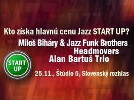 Záverečný koncert víťazov Jazz START UP 2017, 25.11.2017 19:00