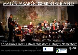 Matúš Jakabči CZ_SK Big band, 20.10.2017 19:00