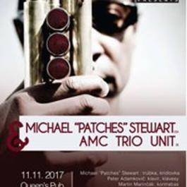 Yes 2 Jazz presents Michael Patches Stewart & AMC Trio Unit, 11.11.2017 20:00