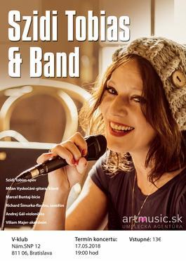 Szidi Tobias & Band - Sedmoláska, 17.5.2018 19:00