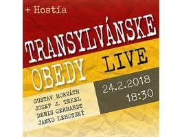 Transylvánske Obedy a hostia, 24.2.2018 18:30