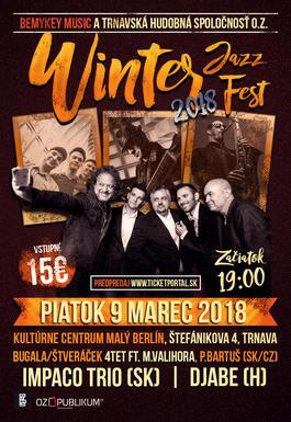 WINTER JAZZ FEST TRNAVA 2018, 9.3.2018 19:00