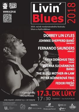 Livin' Blues 2018, 17.3.2018 17:30