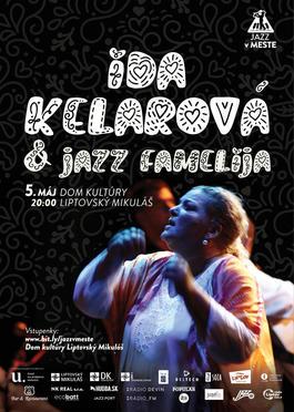 Koncert: Ida Kelarová & Jazz Famelija, Dom kultúry Liptovský Mikuláš, 5.5.2018 20:00