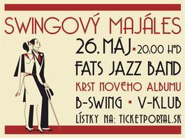 Swingový majáles s krstom nového CD, 26.5.2018 20:00