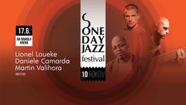 ONE DAY JAZZ - Lionel Loueke Trio feat. Daniele Camarda &. Martin Valihora, 17.6.2018 19:00