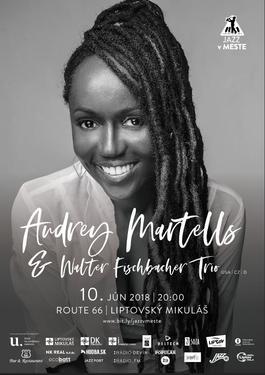 Audrey Martells & Walter Fischbacher Trio, 10.6.2018 20:00