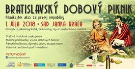 Bratislavský dobový piknik 2018, 1.7.2018 14:00