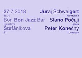 Juraj Schweigert & Stanislav Počaji & Peter Konečný , 27.7.2018 20:30